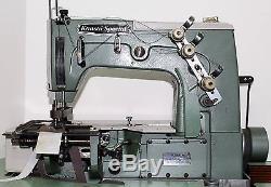KANSAI SPECIAL DVK-1702-BK Coverstitch Belt Loop Industrial Sewing Machine