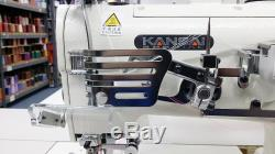 KANSAI SPECIAL NW-8803GMG Top & Bottom Coverstitch Sewing Machine with Servo JAPAN