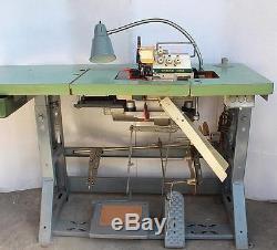 KINGTEX SH-6005 Overlock Serger 2-Needle 5-Thread Industrial Sewing Machine