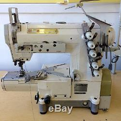 Kansai Special RX-9000 Cover Stitch Sewing Machine/cylinder/table&motor