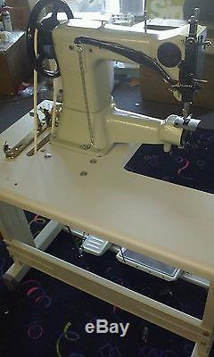 Leather Buster Cylinder Arm Industrial Sewing Machine 3/4 Inch Presser Foot Lift