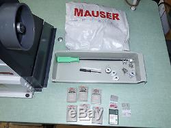 MAUSER SPEZIAL 335G Walking Foot Cylinder Bed Industrial Sewing Machine