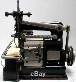 MERROW 22-FJT 1-Needle Crochet Shell Stitch Blanket Industrial Sewing Machine