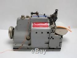 MERROW M-2DH 2-Thread Serger Industrial Patch Emblem Sewing Machine Head Only