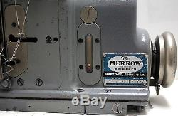 MERROW M-3DW-4S 1-Needle 3-Threads Overlock Shirring Sewing Machine Head Only