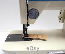 MISEW 2000U33 Walking Foot Zig Zag Portable Industrial Sewing Machine with Motor