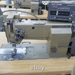 MITSUBISHI LT2-2250, LT2-250 Automatic Double/Single Needle Machine with4' table