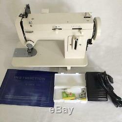 MK306 Portable Heavy Duty Industrial Zigzag walking foot Sewing Machine