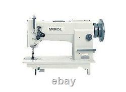 MORSE needle feed+walking foot SEWING MACHINE takes juki 1541 attatchments