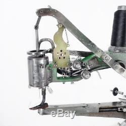 Manual Cobbler Shoe Making Sewing Machine Dual Leather Cotton Nylon Line Sewing