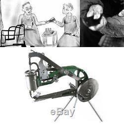 Manual Shoe Repair Machine Nylon Line Sewing Machine Cobbler Handmade Stiching