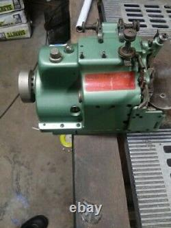 Merrow MG-3U Industrial Sewing Machine for Emblem Edging