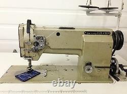 Mitsubishi Walking Foot New Table&motor Big Bobbin Rev Industrial Sewing Machine