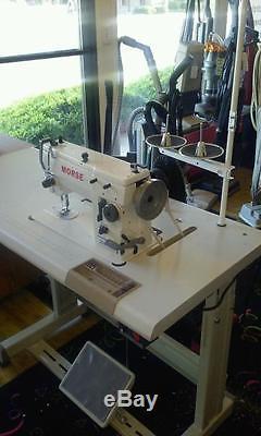 Morse 20u109 Industrial Zig Zag Sewing Machine Walking Foot Straight Stitch To
