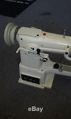 Morse 335 cylinder arm Walking Foot Industrial Sewing Machine TAKES PFAFF NEEDLE