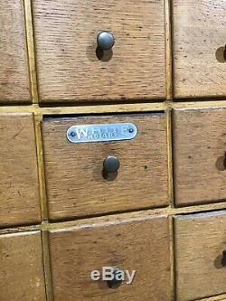 Multi Drawer Sewing Machine Parts Storage Cabinet