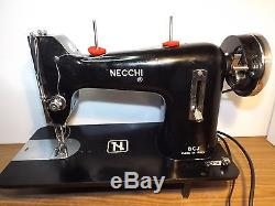 NECCHI Industrial Strength HEAVY DUTY Sewing Machine LEATHER