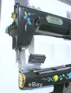 NEW Cowboy Leather Sewing Machine CB-4500 Special Edition Black sewsup to 56 oz
