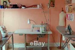 NEW Juki DDL-8700 Industrial Sewing Machine, SERVO MOTOR, TABLE & LED LIGHT, DIY
