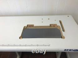 NEW SINGLE NEEDLE 20U TABLE SET FOR MOST 16x7 INDUSTRIAL SEWING MACHINE