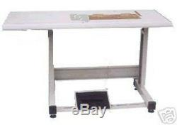 NEW SINGLE NEEDLE TABLE SET 19x 7 FOR MOST 1-NDL INDUSTRIAL SEWING MACHINE
