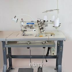 NEW-TECH Coverstitch 3-Needle, 5-Thread Sewing Machine with Direct Drive USA SALE