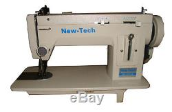 NEW-TECH Portable Walking Foot Long Arm Zig Zag & straight sewing Machine 110 V