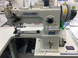 New Dcs-246 Cylinder Arm Walking Foot With Unison Feed Industrial Sewing Machine