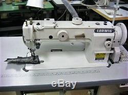 New Industrial Sewing Machine Walking-foot Long-arm (longer & higher work bed)
