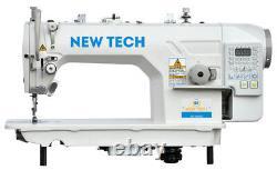New-Tech GC-9000-D4 High-Speed Single Needle Lockstitch Direct Drive Industrial