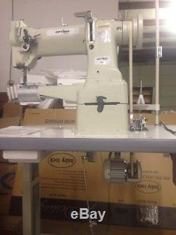 Optima Special 8B Cylinder Arm Walking Foot Industrial Sewing Machine complete