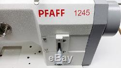 PFAFF 1245 Single Needle Walking Foot Sewing Machine with Servo Motor