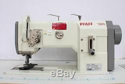 PFAFF 1245 Walking Foot Lockstitch Large Hook Reverse Industrial Sewing Machine