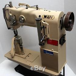 PFAFF 1295 Post Bed Walking Foot Reverse Industrial Sewing Machine Head Only