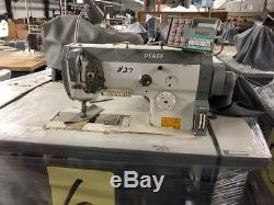 PFAFF 1425 Walking Foot Large bobbin Industrial Sewing Machine & table