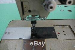 PFAFF 142 Double 2-Needle Feed 3/8 Gauge Reverse Industrial Sewing Machine