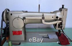 PFAFF 143B Roller Foot 1-Needle Lockstitch Reverse Industrial Sewing Machine