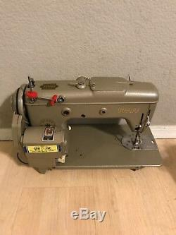 PFAFF 230 INDUSTRIAL STRENGTH sewing machine HEAVY DUTY upholstery leather Nice