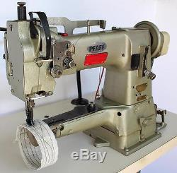 PFAFF 335-H3-2 1-N Walking Foot Cylinder Bed Reverse Industrial Sewing Machine
