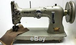 PFAFF 38-45 2-Needle Double Roller Foot Mucosa Stitch Industrial Sewing Machine