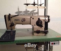 PFAFF 438 Single Needle Zig Zag Reverse Leather Industrial Sewing Machine