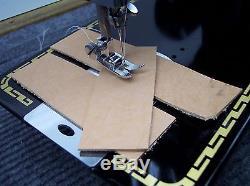PFAFF INDUSTRIAL STRENGTH HEAVY DUTY SEWING MACHINE 18oz Leather 3/8 Lift