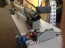 Pegasus Long Arm Walking Foot 3 Needle Industrial Sewing Machine