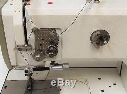 Pfaff 1245 Walking Foot Industrial Sewing Machine withServo motor, table & extra's