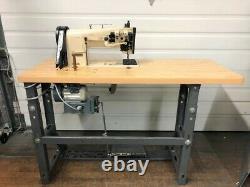 Pfaff 1245 Walking Foot Reverse Big Bob 110volt Servo Industrial Sewing Machine
