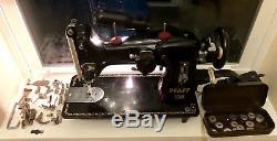 Pfaff 130 Industrial Strength Sewing Machine With Accessories