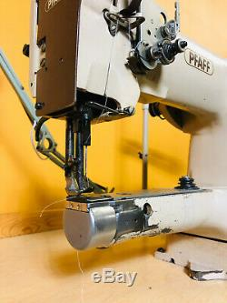 Pfaff 335-H3 with Synchro Q31 Plus Industrial Sewing Machine. Tested