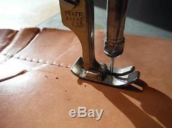 Pfaff 34-6-2BS Industrial Leather Sewing Machine /Reverse / Stitch Length, Used