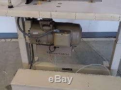 Pfaff 481 Industrial Sewing Machine With Rolling Work Bench