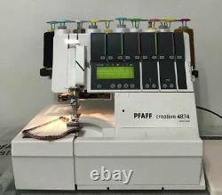 Pfaff Creative 4874 Serger Sewing Machine Made In Japan